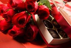 Celebración del día de tarjeta del día de San Valentín Foto de archivo