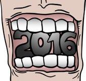 Celebracion 2016 Imagen de archivo libre de regalías