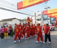 Celebraciones chinas del Año Nuevo en Tailandia Foto de archivo libre de regalías