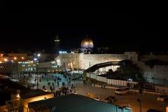 Celebraciones de Jánuca en Jerusalén foto de archivo
