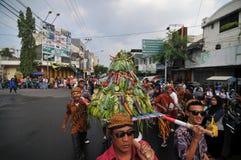 celebraciones de la cosecha en Indonesia Foto de archivo libre de regalías