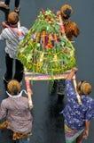 celebraciones de la cosecha en Indonesia Imágenes de archivo libres de regalías