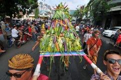 celebraciones de la cosecha en Indonesia Fotografía de archivo libre de regalías