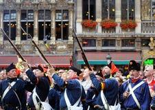 Celebraciones de la independencia belga Fotos de archivo