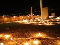 Celebraciones de la luz del tejado fotografía de archivo