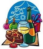 Celebraciones de la Navidad Imagen de archivo