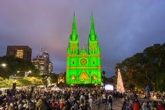 Celebraciones de la Nochebuena 2013 Foto de archivo