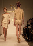Celebraciones de la semana de la moda en todo el mundo Imagen de archivo