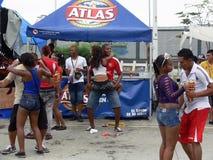 Celebraciones del carnaval de la diversión Imagenes de archivo