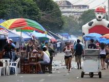 Celebraciones del carnaval en Panamá Foto de archivo