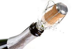 Celebraciones del champán del Año Nuevo Foto de archivo libre de regalías