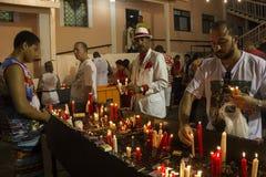 Celebraciones del día de San Jorge en Rio de Janeiro fotografía de archivo