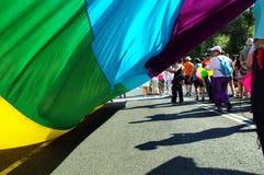 Celebraciones 30 del orgullo gay Imagen de archivo libre de regalías