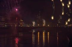 Celebraciones del ` s del Año Nuevo en Italia Fotos de archivo libres de regalías