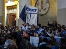 Papa Celebrations de Buenos Aires Foto de archivo libre de regalías