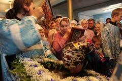 Celebraciones ortodoxas Imágenes de archivo libres de regalías