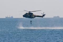 Celebraciones rumanas de la marina Fotos de archivo libres de regalías
