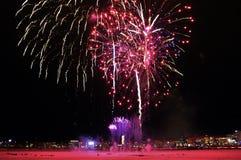 Celebraciones tradicionales del Año Nuevo en LuleÃ¥ Imagen de archivo