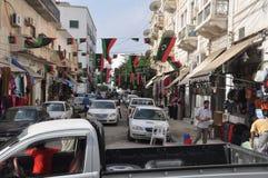 Celebrações de Líbia Imagens de Stock Royalty Free