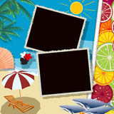 Celebração do verão Fotografia de Stock
