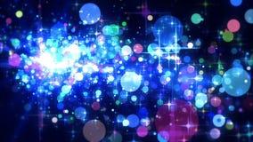 A celebração Stars o tempo vídeos de arquivo