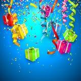 Celebrate background Stock Photography