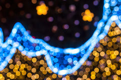 Celebrate bokeh background Royalty Free Stock Image