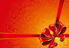 Celebrate bow background. Illustration Stock Images
