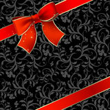 Celebrate bow background Royalty Free Stock Images