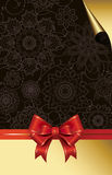 Celebrate bow background. Royalty Free Stock Photography