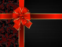 Celebrate bow background Stock Photography