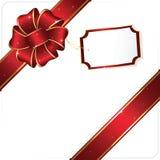 Celebrate bow and ribbon Stock Image