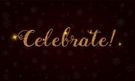 Celebrate!. Stock Photography
