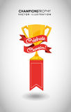 Celebrate champion Stock Image
