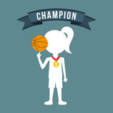 Celebrate champion Stock Photos