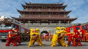 Free Celebrate Chaozhou Fire Festival Royalty Free Stock Photography - 200246147