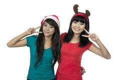 Celebrate Christmas Together Stock Image