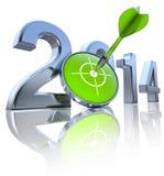 Celebrate 2014 Stock Photo
