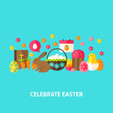 Celebrate Easter Greeting Card Stock Image