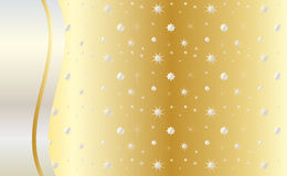Celebrate gold background vector Stock Images