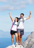 Celebrate hike Royalty Free Stock Images