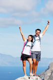 Celebrate hike Stock Photography
