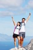 Celebrate hike Stock Photography