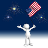 Celebrate Independence Day Stock Image