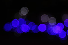 Celebrate light bokeh Royalty Free Stock Photo