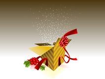 Celebrate! Open gift box eps8 Royalty Free Stock Image