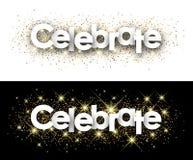 Free Celebrate Paper Banner. Stock Photo - 119073400