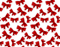 Celebrate seamless background of red bows. Vector illustration of seamless celebrate background. Contains of red bows. eps 10 Royalty Free Stock Photo