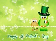 Celebrate St. Patrick's Day. Illustration of St. Patrick's Day stock illustration
