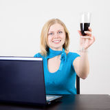 Celebrate Success Royalty Free Stock Photography